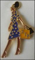 Diva Lapel Pin - Sigma Gamma Rho