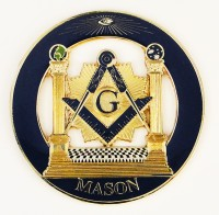 Masonic Cut Metal Emblems