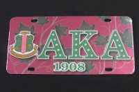 Alpha Kappa Alpha - Printed Crest License Plates