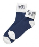 Sorority Colored Ankle Socks