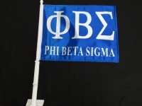 Phi Beta Sigma Car Flags