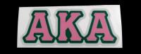 Alpha Kappa Alpha Reflective Greek Decal Letters