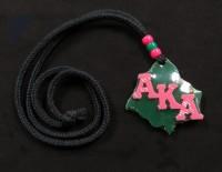 Alpha Kappa Alpha - Ivy Leaf Tiki