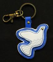 ZPB- Leather Symbol Keychain
