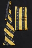 Masonic Self-Tie Bow Tie & Handkerchief Set