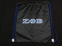 Zeta Phi Beta Drawstring Backpack