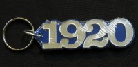 Founded Year Keychain- Zeta Phi Beta (1920)