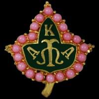AKA - Alpha Kappa Alpha Pin -  Pearl