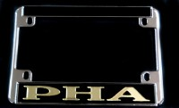 Black PHA Motorcycle Frame