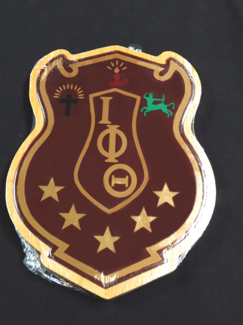 Iota Phi Theta Shield Plaque Limited Supply The Greek Shop